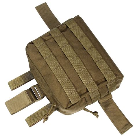 molle system accessories flyye army drop leg accessories pouch molle system airsoft