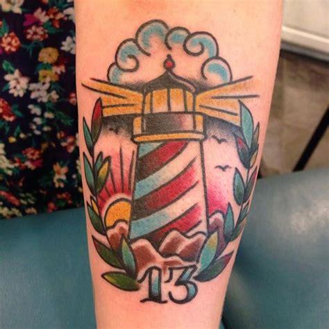 traditional lighthouse tattoo lighthouse best design ideas