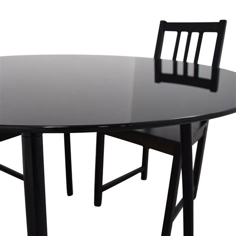 31 Off Ikea Ikea Glass And Wood Table And Chairs Tables Ikea Glass Dining Table And Chairs
