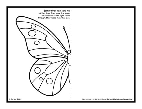 butterfly coloring pages games symmetry art activity 5 free coloring pages art for