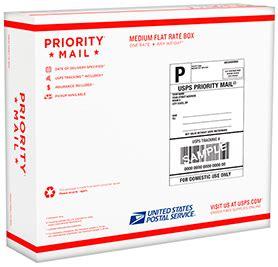 prepaid priority mail