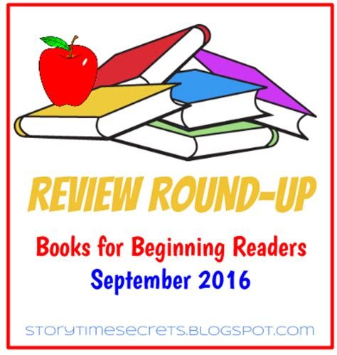 story time secrets: review round up: books for beginning