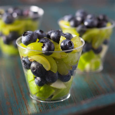 healthy football appetizer seahawks fruit salad cups