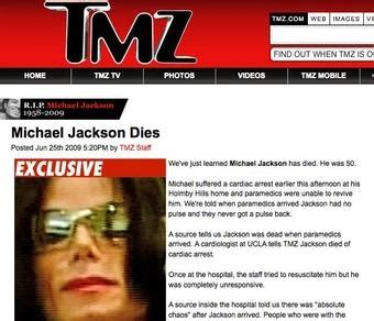 what was wrong with michael jackson la times what if tmz got michael jackson s death wrong