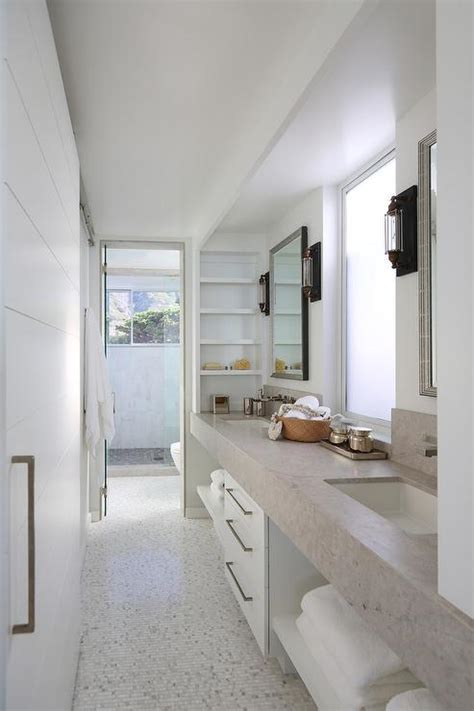 galley bathroom designs galley style bathroom galley style bathroom with glass ceiling
