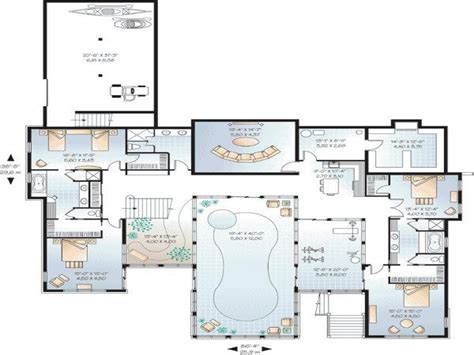 indoor pool house plans house floor plans with measurements house floor plans with