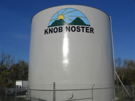 Knob Knoster by Ozark Applicators Water Tower Painting Water Towers