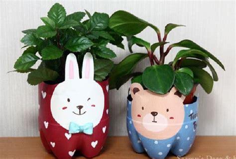 Hadiah Unik Bunga Berpengawet Pot Putih Bunga Dalam Pot cara membuat pot bunga dari botol bekas bibitbunga