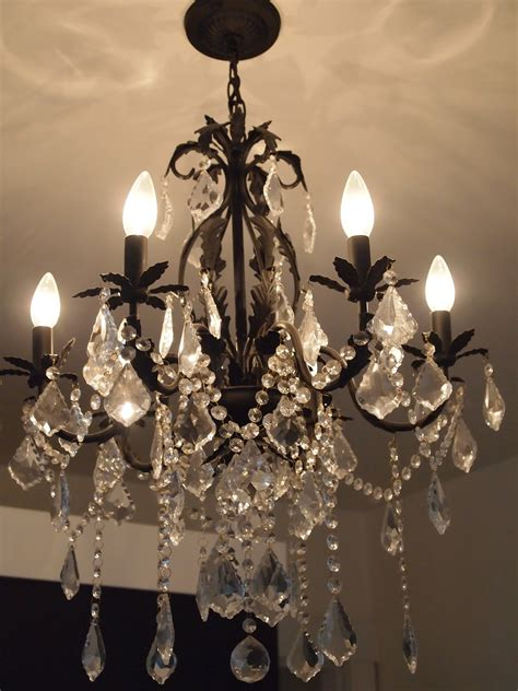 My Chandelier Decor On A Dime My Affair With Chandeliers