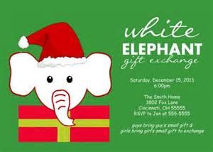 white elephant christmas clip art