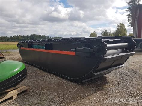 usa pontoon used finnboom pontoons xxl hibious excavators year