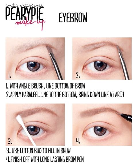 7 Tips For Perfectly Groomed Eyebrows by 25 Best Ideas About Different Eyebrow Shapes On