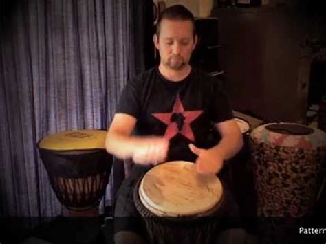 drum pattern player djembe patterns for beginners patterns 1 to 6 youtube