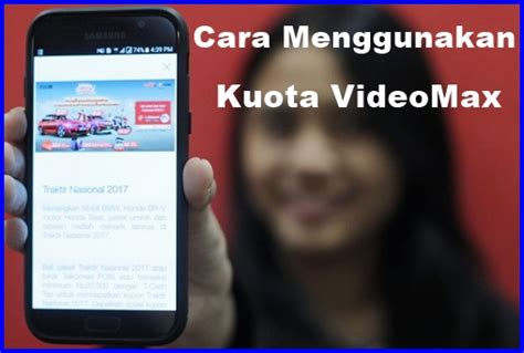 update cara pakai kuota videomax 2018 2 cara menggunakan paket kuota videomax telkomsel terbaru