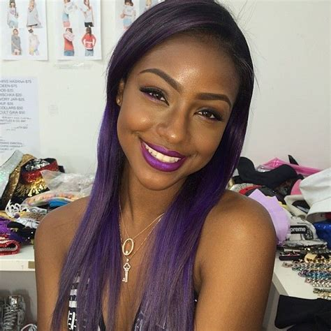 purple hair black women top 13 cute purple hairstyles for black girls this season