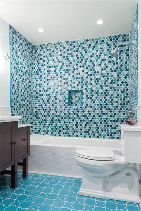 glass tile for bathrooms ideas tile school tile vs glass in the shower which one fireclay tile