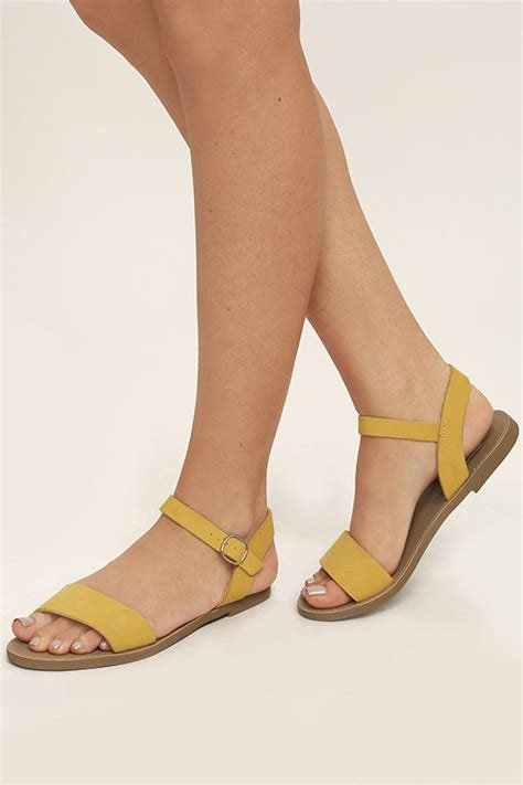 Steve Madden Strutt Wedges by Yellow Sandals Leather Sandals Flat Sandals 59 00