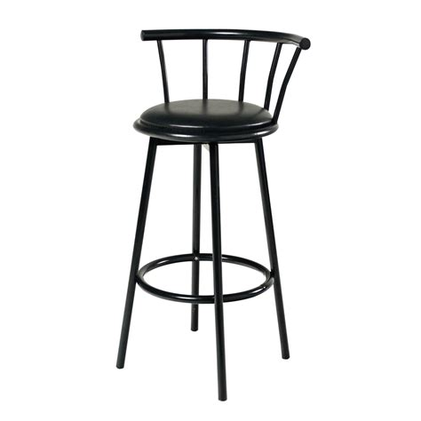 Metal Bar Stool With Back Black Metal Bar Stool With Back Event Rents