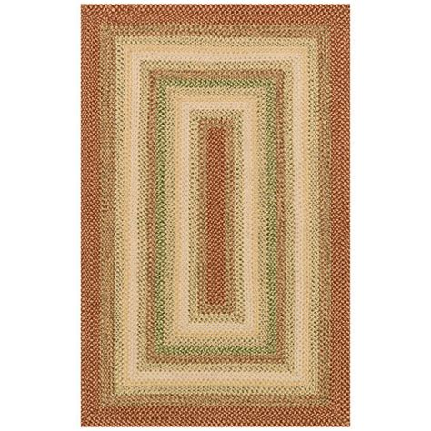 Jcpenney Braided Rugs by Reversible Braided Indoor Outdoor Rectangular Rug