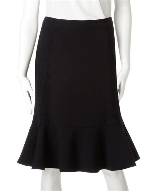 Trumpet Skirt black trumpet skirt