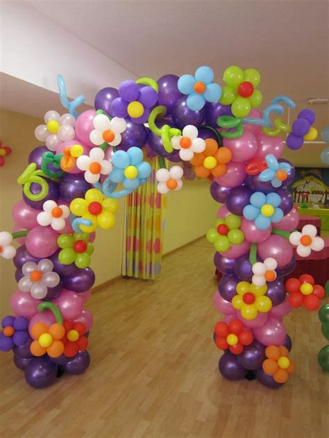 flower pattern balloon arch reme globoflexia arco de flores 2 balloon flower arches