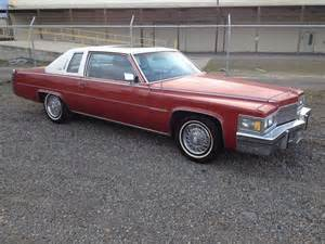 1978 Cadillac Coupe De Ville 1978 Cadillac Coupe For Sale Salem Oregon