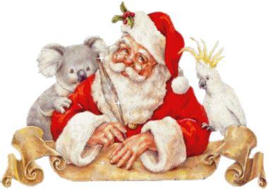 imagenes santa claus con movimiento gifs de navidad papa noel adornos etc