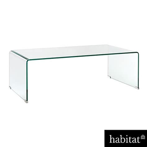 habitat gala glass coffee table