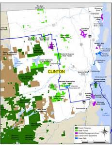 clinton ny clinton county map nys dept of environmental conservation