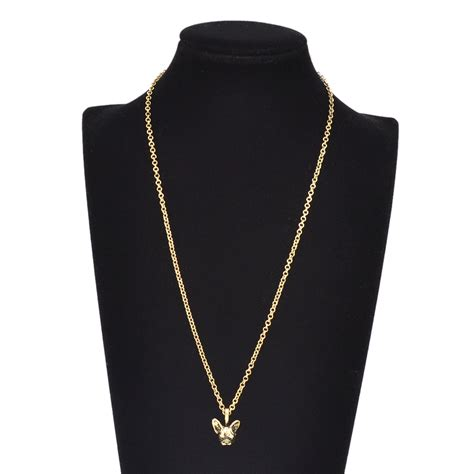 pugs the caign gold puppy pug dachshund doberman animals pendant necklace chain jewelry ebay