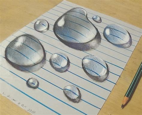 Three D Sketches by Artist Creates 3d Drawings Inspired By Anamorphic