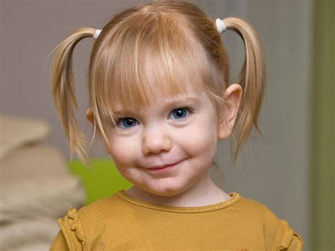 little girl hairstyles in ponytails adorable girls hairstyles for children s day fashion home