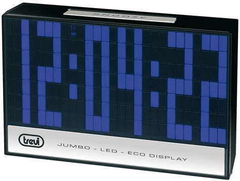 cornici digitali grandi dimensioni led 3325 orologio digitale led a grande display