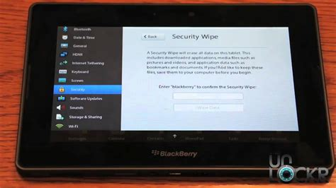blackberry reset youtube how to factory reset the blackberry playbook youtube
