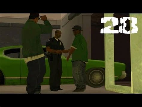 gta san andreas pc mission 28 the green sabre youtube