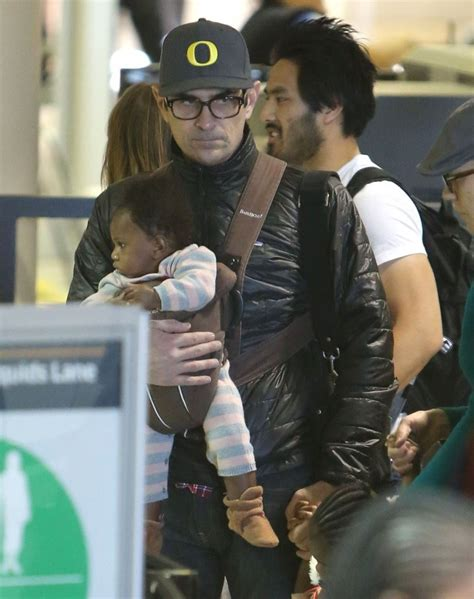 ty burrell and family ty burrell and family departing on a flight at lax 5 of 24