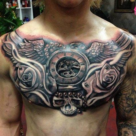 arm and chest tattoos for men 50 unique ideas for your chest back arm ribs and