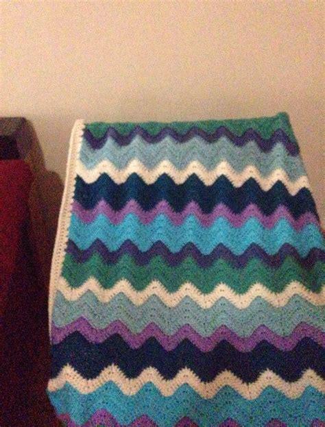 small ocean waves crochet blanket in beautiful blues 45 best crochet ocean afghan ideas images on pinterest