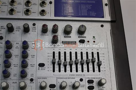 Mixer Alto L12 alto l12 mixer analogico 8 canali ex demo banco degli