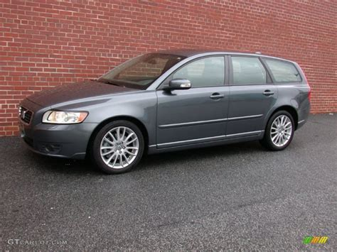 2009 titanium grey metallic volvo v50 2 4i 60232887 gtcarlot car color galleries
