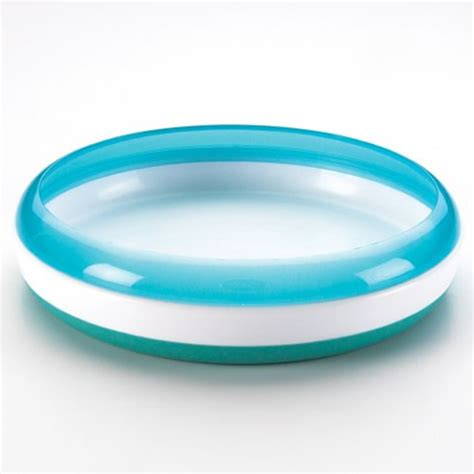 Terlaris Oxo Tot Plate With Removable Ring Blue oxo tot plate oxo tot complete care shop