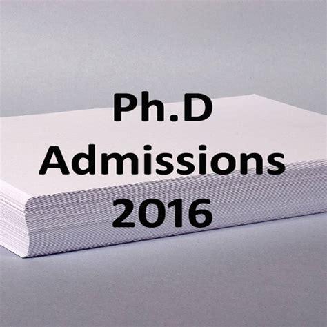 Nit Jalandhar Mba Admission 2016 by Ph D Admissions 2016 Apply At Nit Jalandhar Before May 30