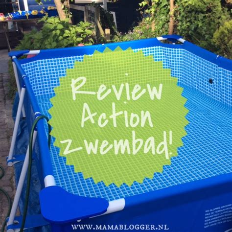 Zwembad Harde Rand by Review Mega Grote Zwembad De Mamablogger