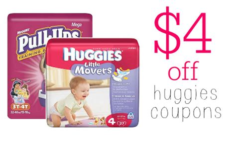 pull up diaper printable coupons new huggies coupons 4 off diapers or pull ups