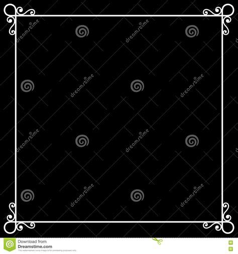 vintage frame on chalkboard retro background for stock