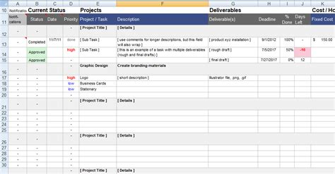 project tracking template project management tracking template project