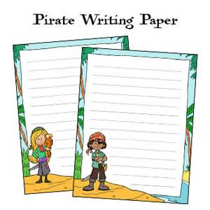 Pirate Themed Writing Paper Pirate Writing Paper Educationcoursework X Fc2 Com