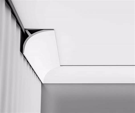 corniche moulure de plafond cache rideau axxent orac decor