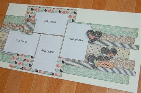 scrapbook layout ideas 5 photos scrapbook generation