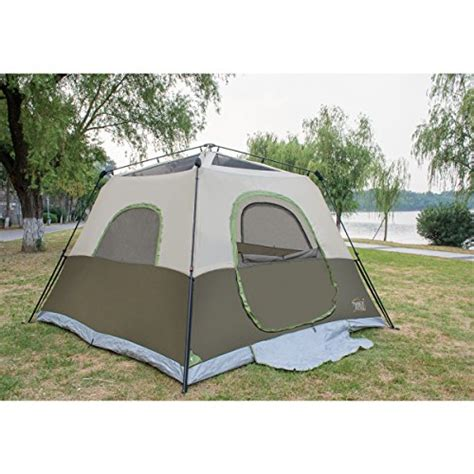 6 Person Cabin Tent by Timber Ridge 6 Person Instant Cabin Tent With Rainfly